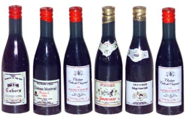 Bottiglie vino miniature - €4.00EUR : Il Faro Presepi!, Presepi artigianali, presepi in ...