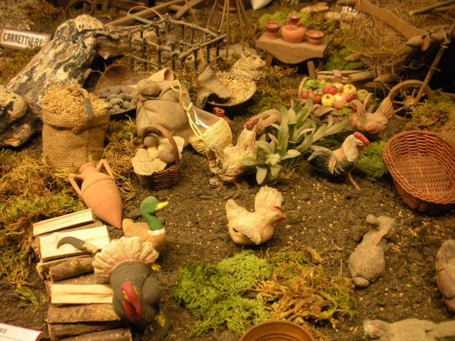 Tavolo per presepe il faro presepi presepi for Vasi in terracotta economici