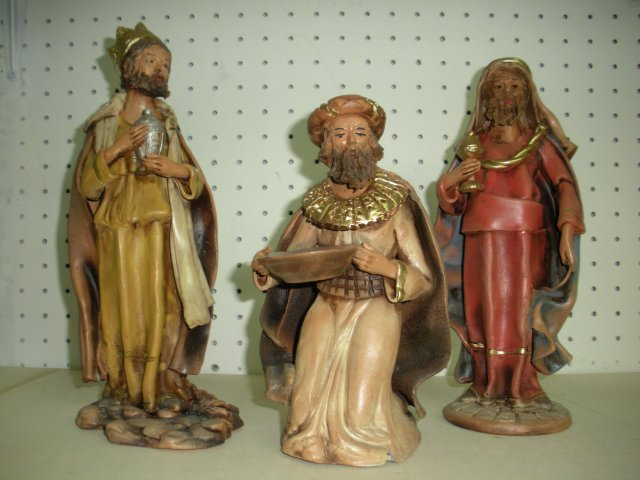 Magi in terracotta cm. 27