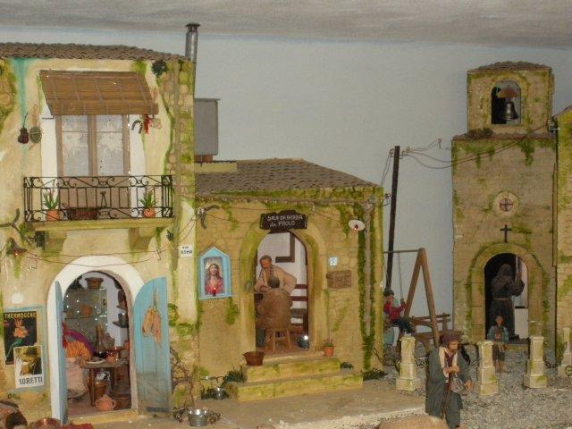 Case antiche presepe 3 il faro presepi for Immagini di case antiche