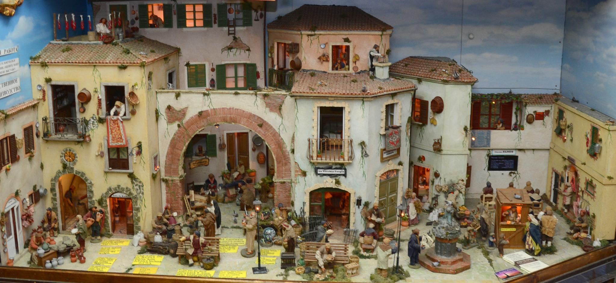 Molto Il Faro Presepi!, Presepi artigianali, presepi in movimento e  NO56